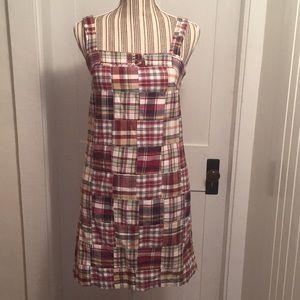 J.Crew plaid dress